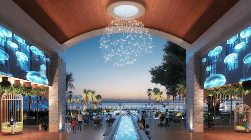 Beaches Runaway Bay Lobby (rendering)
