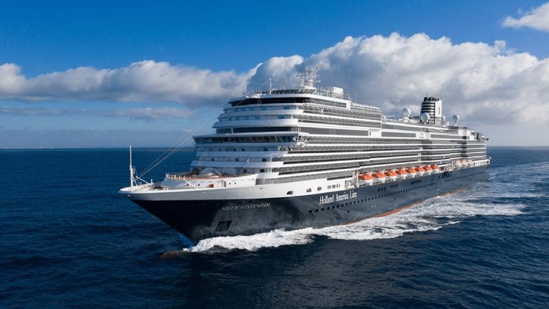 Holland America Line's Nieuw Statendam ship