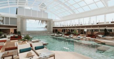 Indoor Pool rendering, Explora I of MSC's Explora Journeys