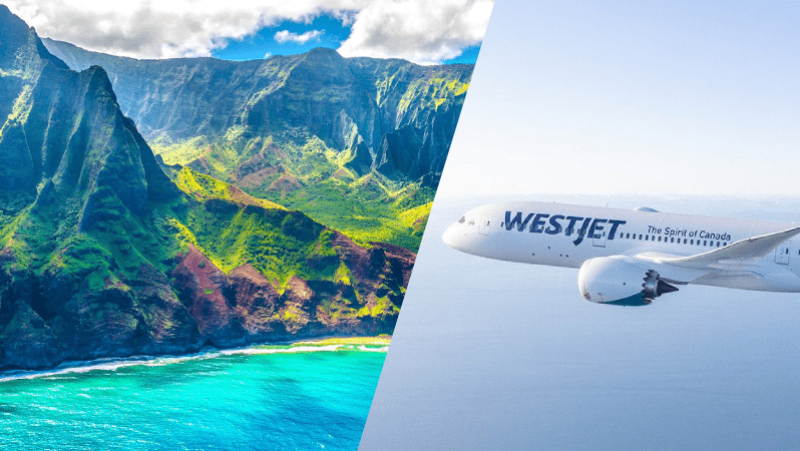 WestJet Expands Service to Hawaii from Western Canada including Dreamliner Flights