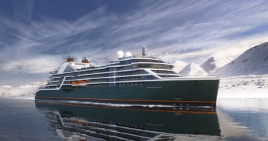 A rendering of the Seabourn Pursuit