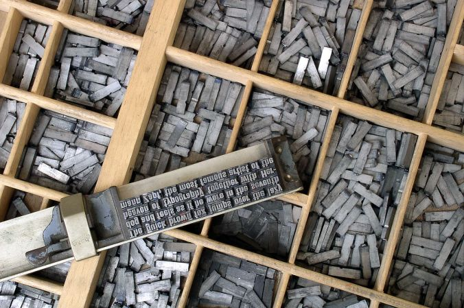 movable metal type