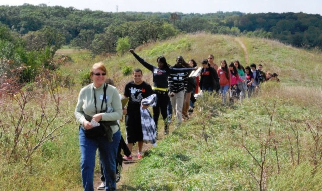 Hackmatack Youth outing Glacial Park