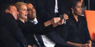 selfie obama mandela