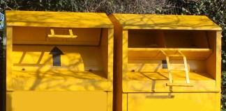 cassonetti gialli