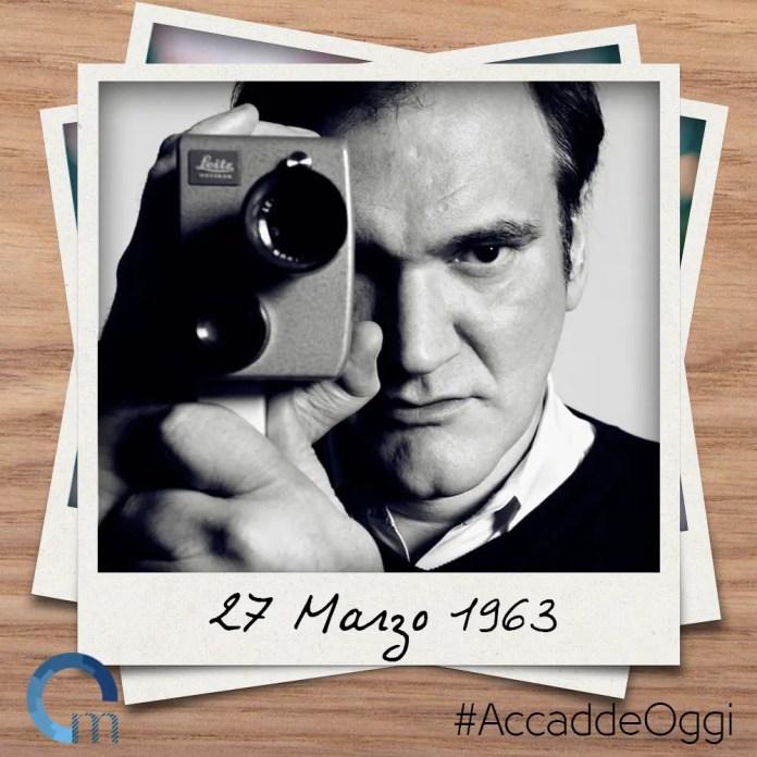 27marzo1963 Quentin Tarantino