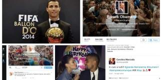 vip calciatori e social