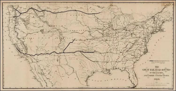 Prima ferrovia transcontinentale americana