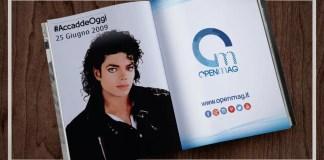 25 giugno 2009: muore Michael Jackson