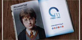 30 giugno 1997: esce il primo volume di Harry Potter