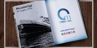 25 Luglio 1956: naufragio dell'Andrea Doria