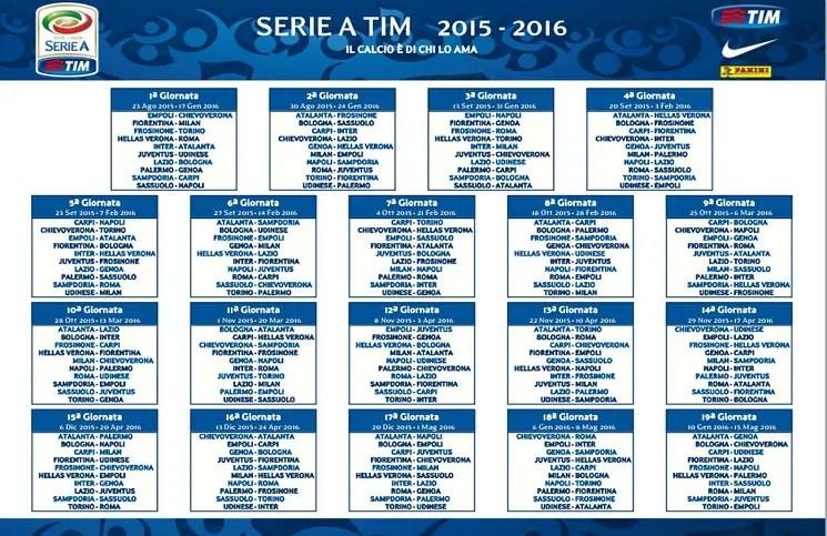 Palermo Calcio Calendario.Calcio Presentato Il Calendario Serie A Openmag