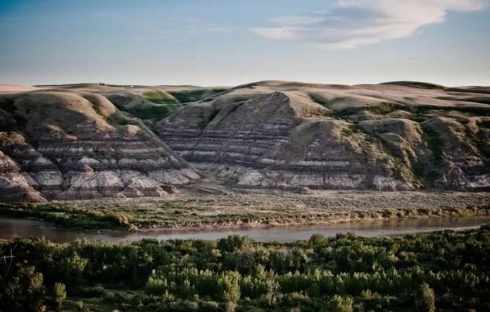 Un'altra location ad Alberta è la Dead Man's Flats vicino Canmore.