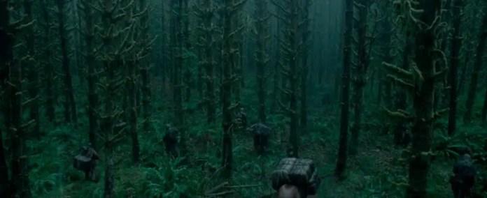 Nella British Columbia, la Squamish Valley è stata il set della sequenza dell'attacco con l'orso. La zona è vicino al fiume nella Foresta di Derringer.