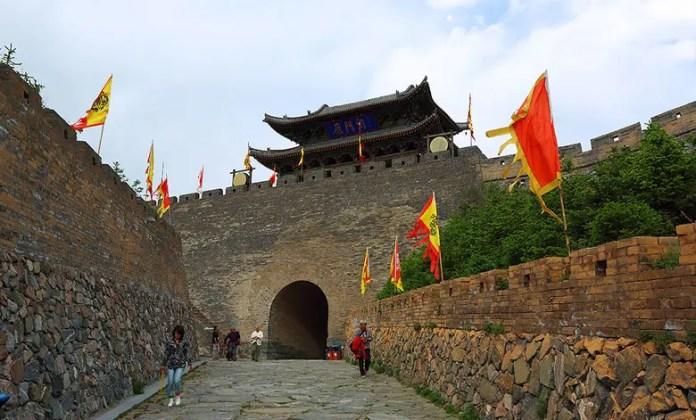 Passo dello Yanmenguan. Photo Credits.