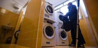 la lavanderia di papa francesco