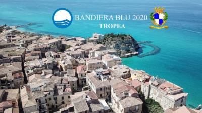 """Tropea Bandiera Blu 2020. Macrì: """"nuove sfide per il 2021"""""""