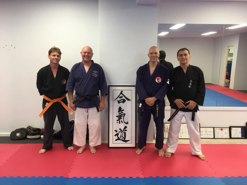 Impromptu training at open mat martial arts new dojo