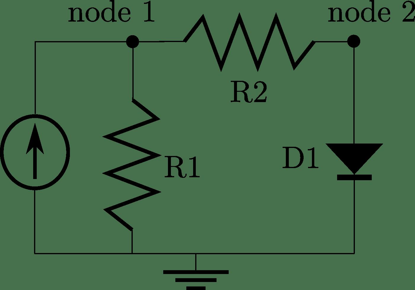 Converging An Implicit Model Nonlinear Circuitysis