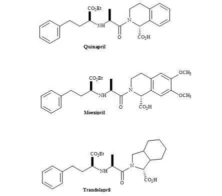 Figure 43. ACE inhibitors