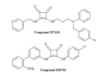Figure 49. Squaramides from the GSK library