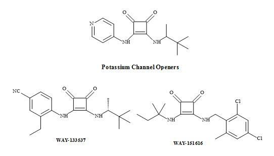 Figure 56. Potassium channel openers