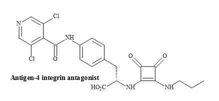 Figure 57. Squaramide VLA-4 integrin antagonist