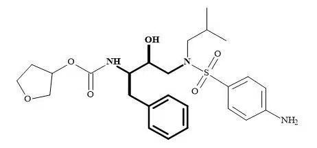 Figure 65. (2R,3S)-1,3-Diamino-2-hydroxy-4-phenyl-butane subunit embedded in amprenavir