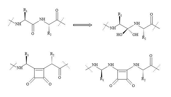 Figure 66. Squaryl group in protease inhibitors