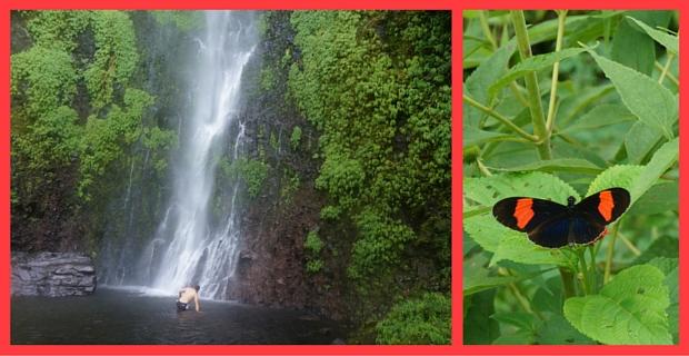 Cascada de los Frailes in Pereira (Friars Waterfall)