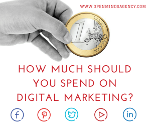 How much should you spend on digital marketing