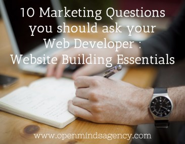 10 Marketing Questions