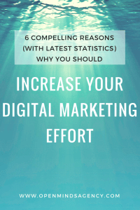 Increase your marketing effort with statistics