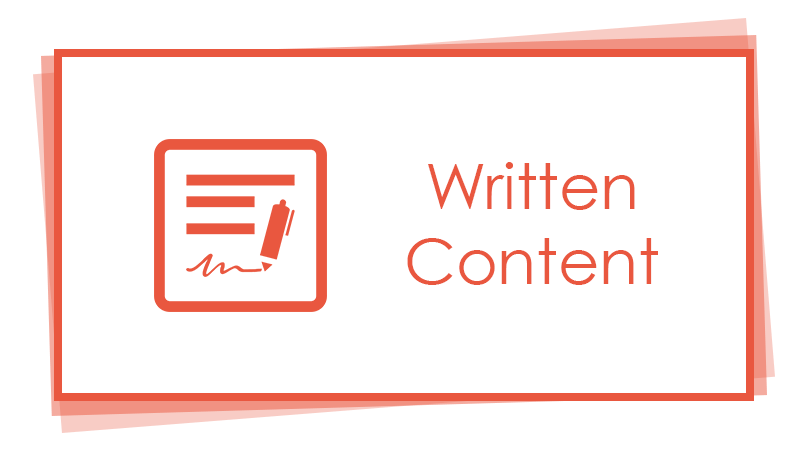 Written content creation