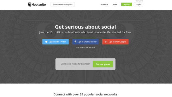 Hootsuite Content tool