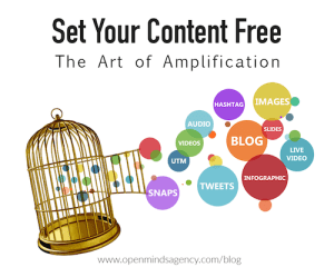 Set your content free the art of amplification