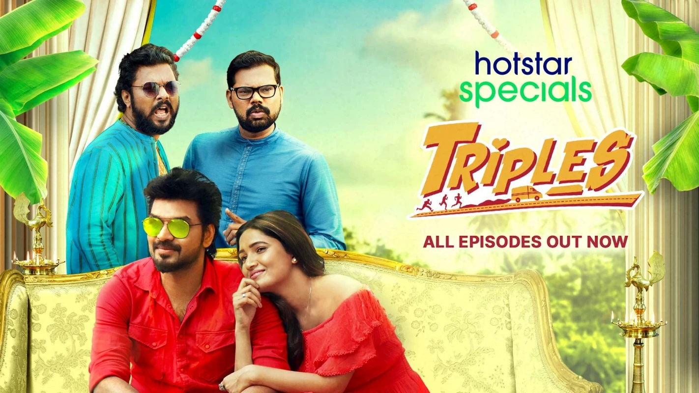 Triples Season 1 Complete (Hindi Dubbed)