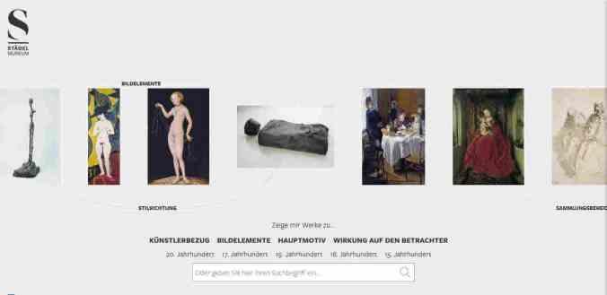 digitale exponate plattform
