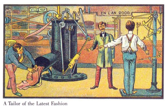 "The Internet of Things,  Jean-Marc Côté, ""En L'An 2000"", 1899‒1910."