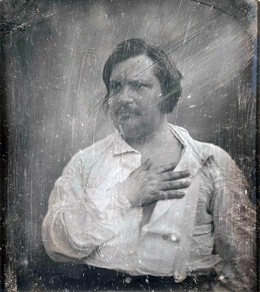 Honoré de Balzac (1799-1850). Daguerréotype de Louis-Auguste Bisson (1814-1876). Paris, Maison de Balzac.