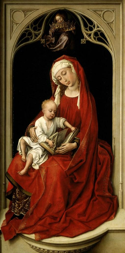 Rogier van der Weyden, Madonns mit KInd, Durán Madonna, 1440, El Prado Museo