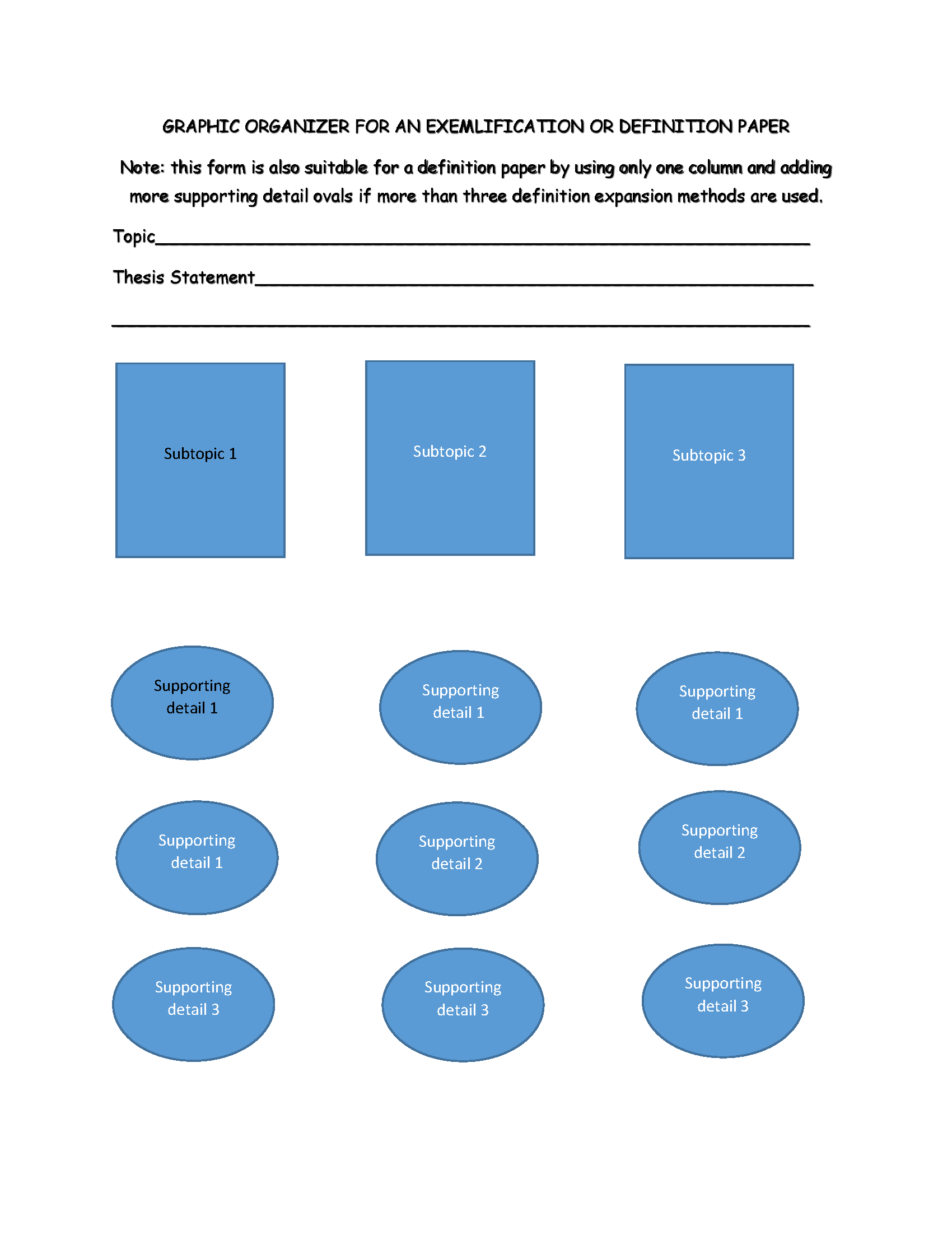 Graphic Organizers For Reading Writing Patterns How To