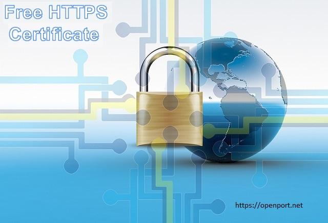 Free HTTPS Certificate