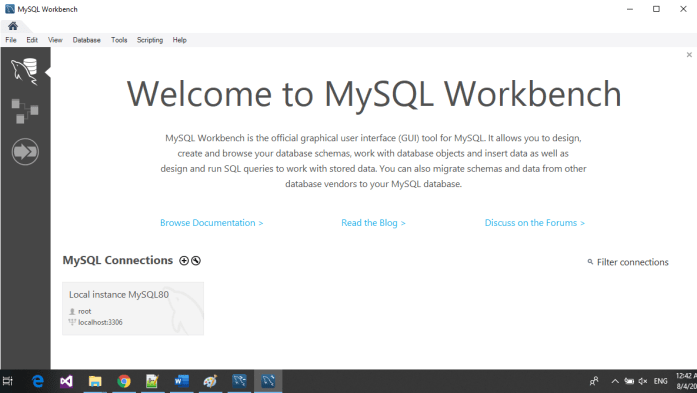 MySQL GUI Interface