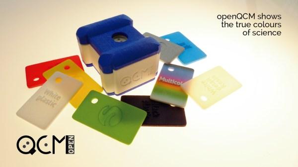 Quartz Crystal Microbalance openQCM design by Glenda Torres Guizado and 3D print by Sculpteo
