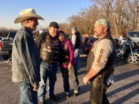 Seeing bikers and cowboys share their love for the Lord is nothing new at Open Range!