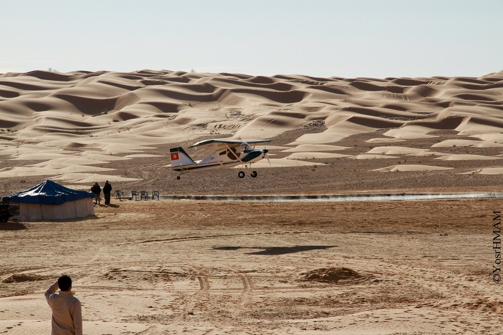 Sahara Flight