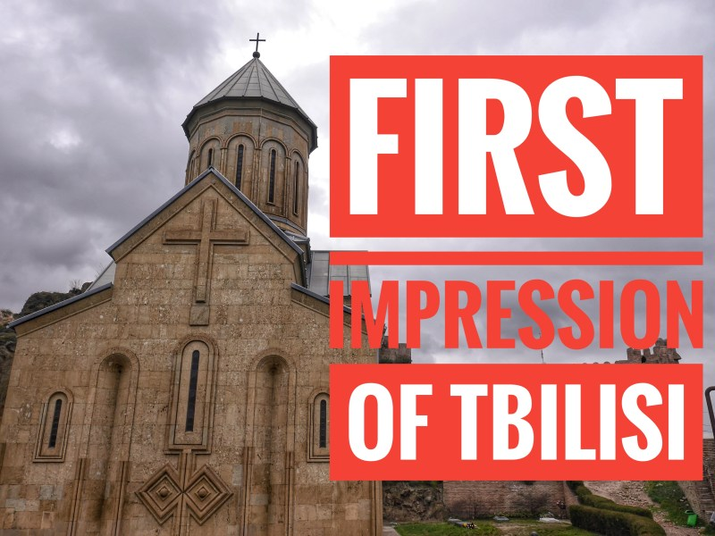 Impression of Tbilisi