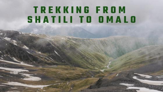 Trekking from Shatili to Omalo