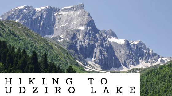 Hiking to Udziro Lake